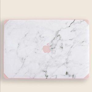 Marble/Pink MacBook Air 13 Case & Keyboard Skin